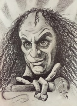 Ronnie James Dio 21 x 28 cm
