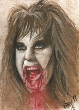 Blackie Lawless 21 x 28 cm