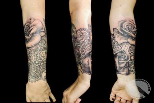 Przedramię Tattoo Szolc Art Tattoo